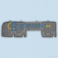 Renault TRAFIC - Fila 2 - CON ventilación trasera (JL) de 2001 a 2014 / Juego Alfombras de goma - AR1919