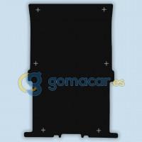 Protector piso de carga para: Ford TRANSIT CONNECT - L2 - 2 plazas - Largo - desde 2013 - .