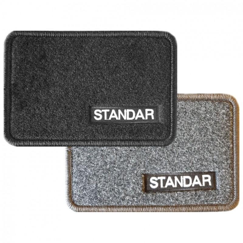 Juego completo de alfombras de moqueta STANDAR