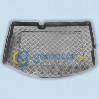 Cubeta de PVC para maletero de Citroen C3 con rueda repuesto pequeña (SC) de 2009 a 2016 - MPR0130